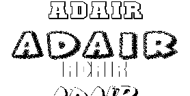 Coloriage Adair