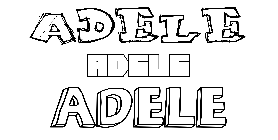 Coloriage Adele