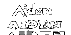 Coloriage Aiden