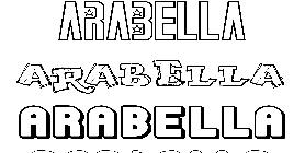 Coloriage Arabella