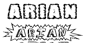 Coloriage Arian