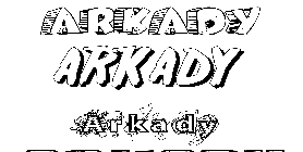 Coloriage Arkady