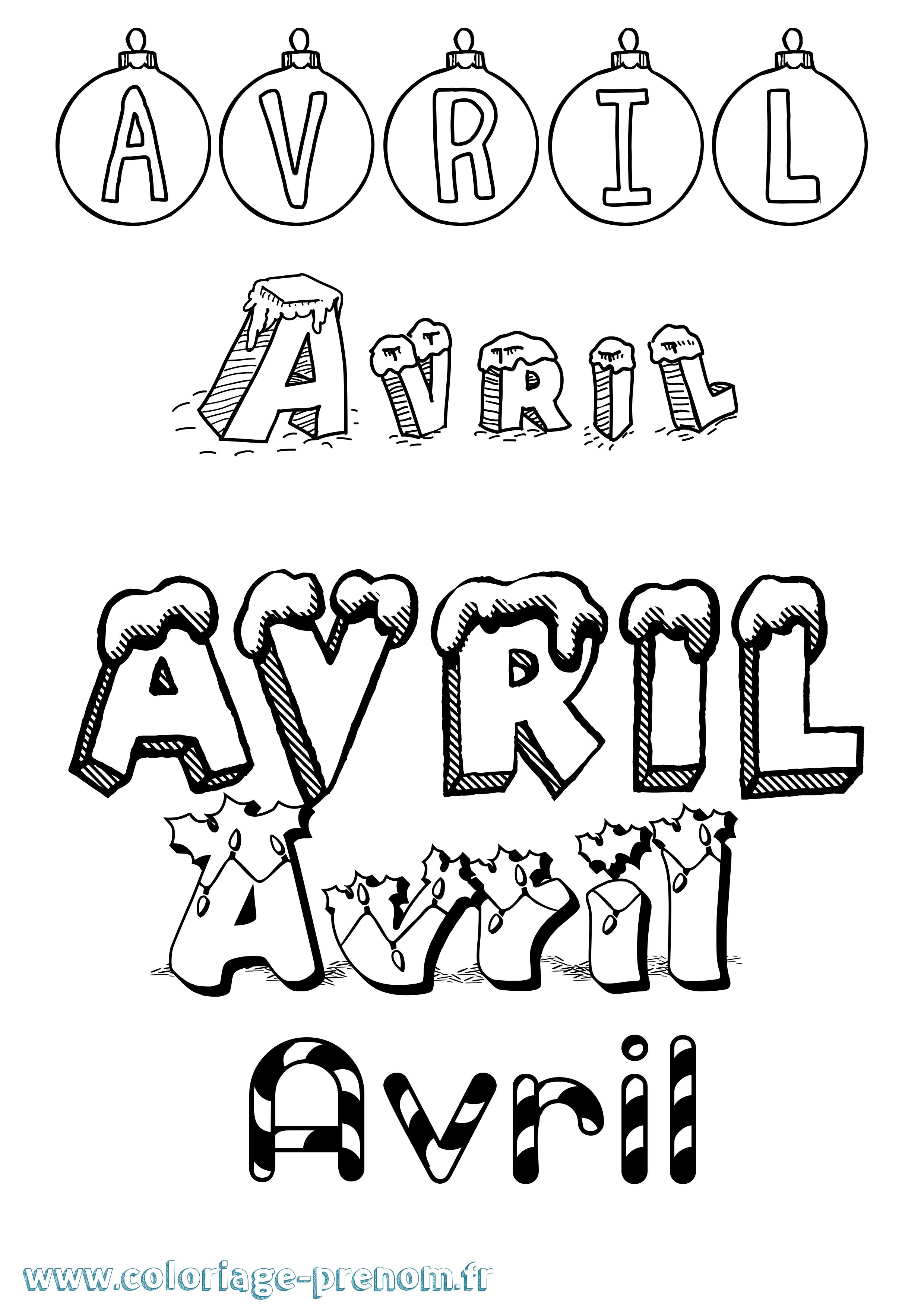 Coloriage Avril A Imprimer.Coloriage Du Prenom Avril A Imprimer Ou Telecharger Facilement