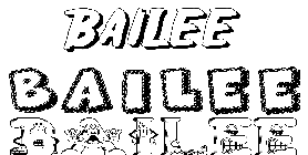 Coloriage Bailee