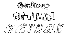 Coloriage Bethan