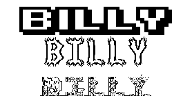 Coloriage Billy