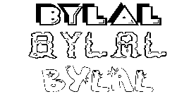 Coloriage Bylal