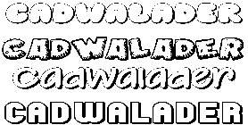 Coloriage Cadwalader