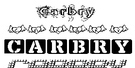 Coloriage Carbry