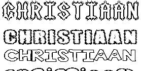 Coloriage Christiaan