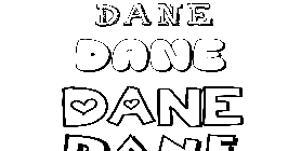 Coloriage Dane