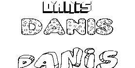 Coloriage Danis
