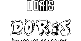 Coloriage Doris
