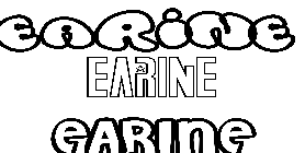 Coloriage Earine