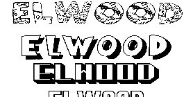 Coloriage Elwood