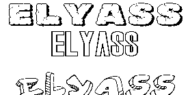 Coloriage Elyass