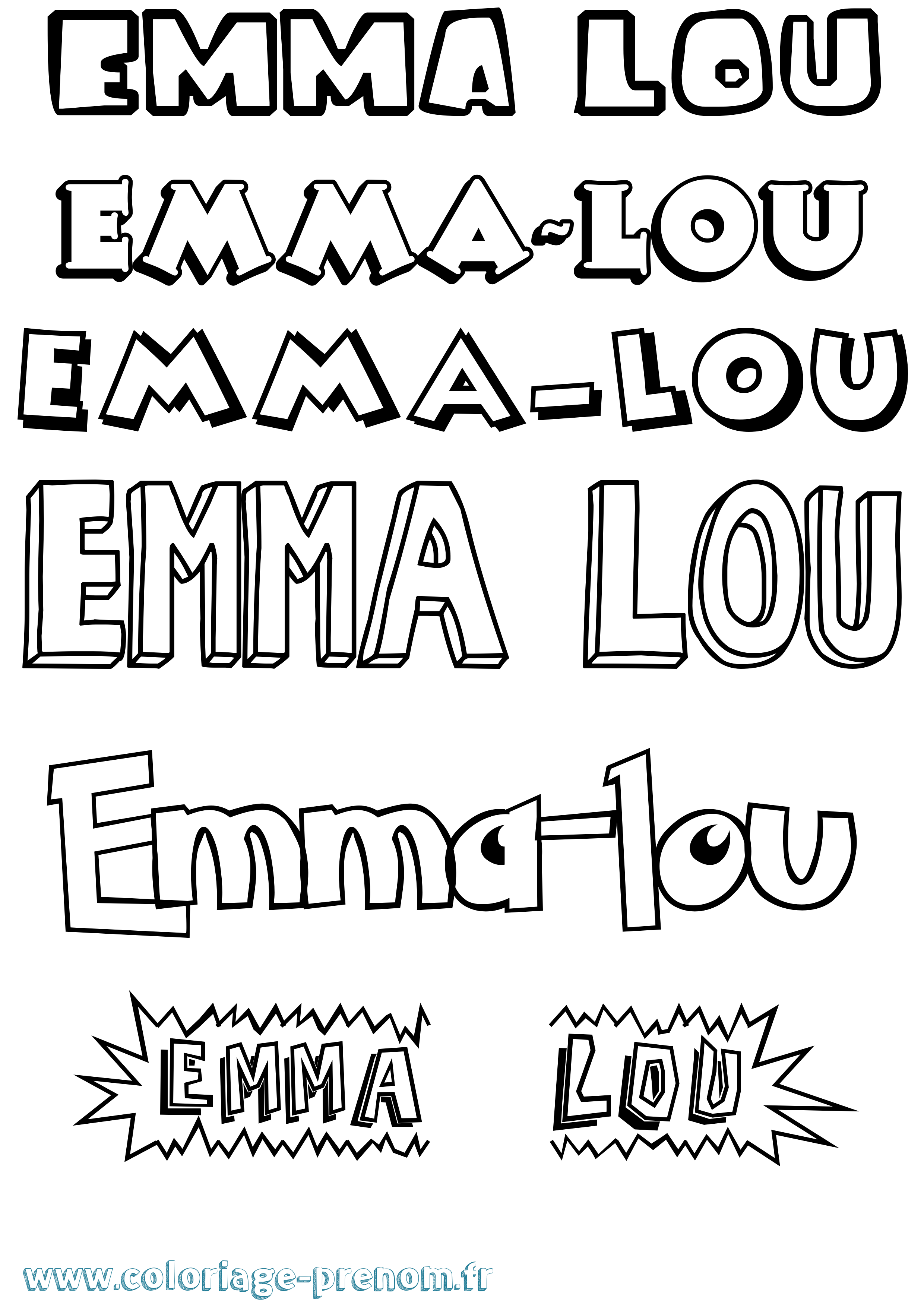 Le coloriage de lou le dessin anime de boomerang - Lou coloriage ...