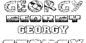 Coloriage Georgy