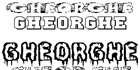 Coloriage Gheorghe