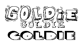 Coloriage Goldie