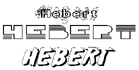 Coloriage Hebert