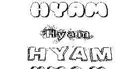 Coloriage Hyam