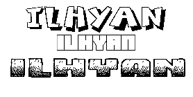 Coloriage Ilhyan