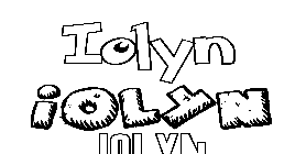 Coloriage Iolyn