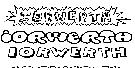 Coloriage Iorwerth