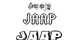 Coloriage Jaap