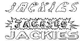 Coloriage Jackies