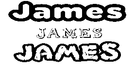 Coloriage James