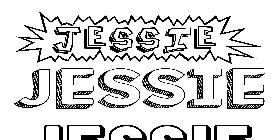 Coloriage du pr nom jessie imprimer ou t l charger facilement - Coloriage jessie ...