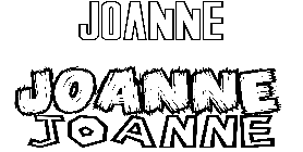 Coloriage Joanne