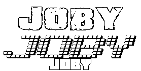 Coloriage Joby