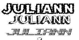 Coloriage Juliann