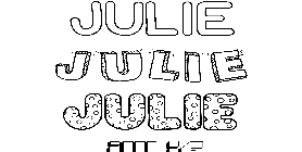 Coloriage Julie