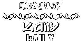 Coloriage Kaily