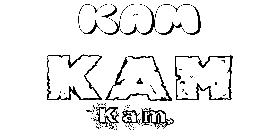 Coloriage Kam