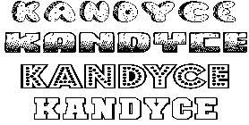 Coloriage Kandyce