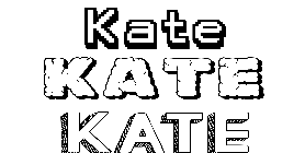 Coloriage Kate