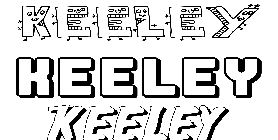 Coloriage Keeley