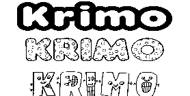 Coloriage Krimo