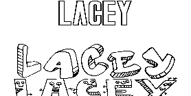 Coloriage Lacey