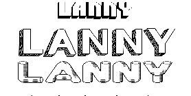 Coloriage Lanny