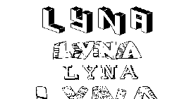 Coloriage Lyna