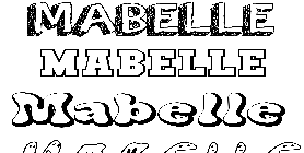 Coloriage Mabelle