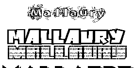 Coloriage Mallaury
