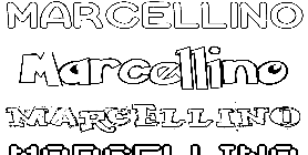 Coloriage Marcellino