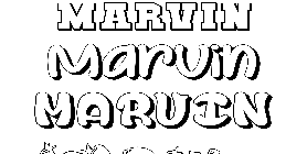 Coloriage Marvin